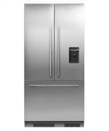 """ActiveSmart Refrigerator 36"""" French Door Integrated with ice & water - 72"""" Tall"""