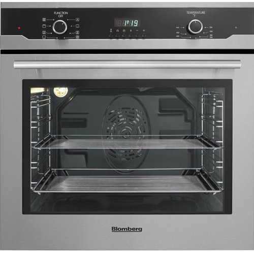 "24"" Built in Wall Oven Single, stainless, full glass door moon design"