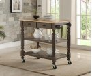 Payson Grey Kitchen Cart Product Image