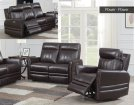 """Coachella Recliner Sofa Brown Pwr/Pwr 79.5""""x38.5""""x41"""" Product Image"""