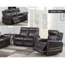 "Coachella Recliner Sofa Brown Pwr/Pwr 79.5""x38.5""x41"" Product Image"