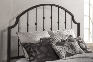Westgate Headboard - Queen - Rustic Black