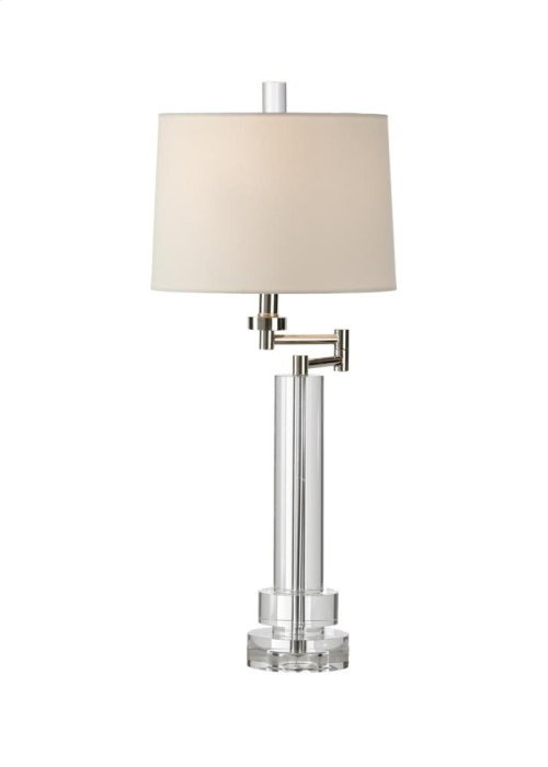 Graduated Rounds Crystal Lamp