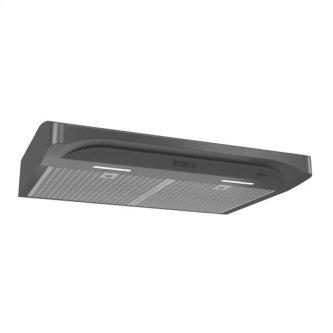 """Broan 300 CFM, 30"""" Undercabinet Range Hood in Black Stainless Steel"""