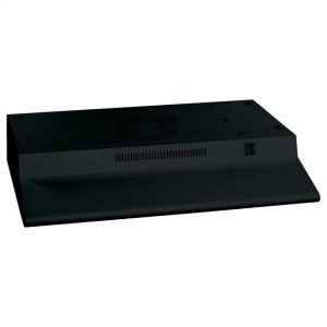 GE® Non-Vented Standard Range Hood - BLACK ON BLACK