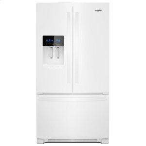 36-inch Wide French Door Refrigerator - 25 cu. ft. - WHITE
