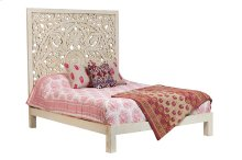 Bali SB-CBD Queen Bed - White