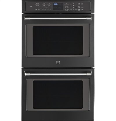 "GE Café Series 30"" Built-In Double Convection Wall Oven Product Image"