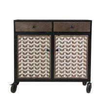 Garrett Accent Cabinet w/Caster 36'' x15'' x34''