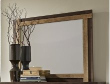 Mirror - Distressed Light Pine Finish