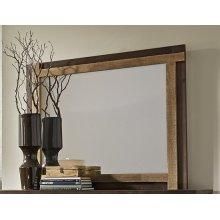 Mirror - Distressed Light Pine Finish