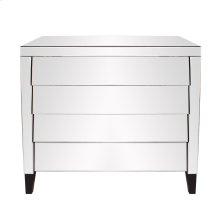 Mirrored 4 Drawer Cabinet