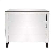 Mirrored 4 Drawer Cabinet Product Image