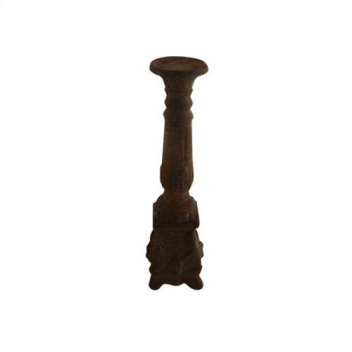 Small Brown Candle Holder
