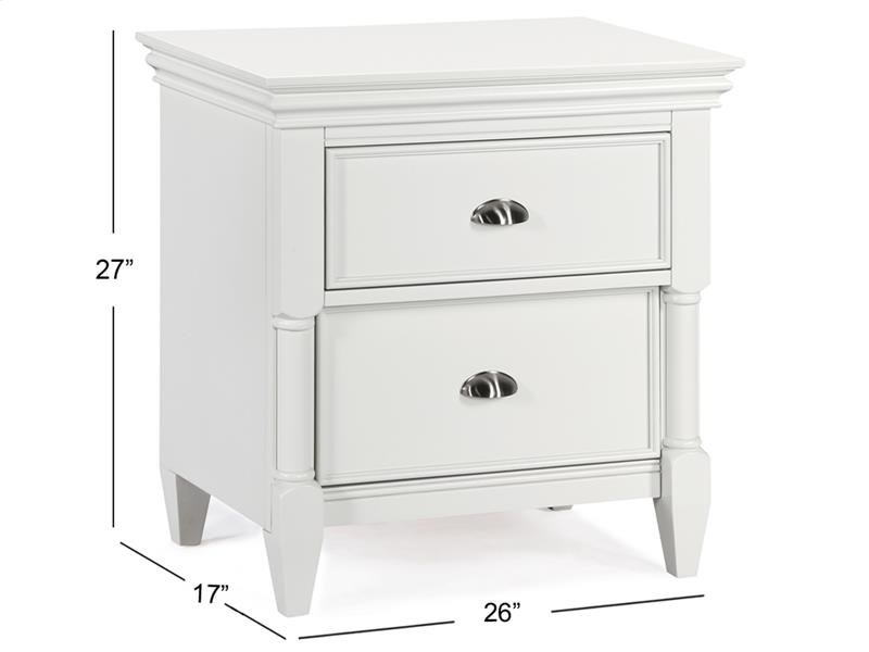 Drawer Nightstand No Touch Lighting Control
