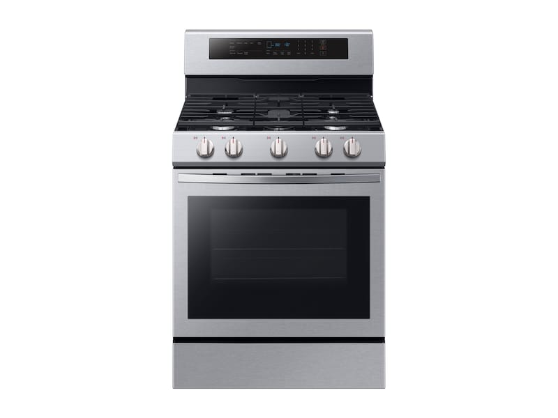 5.8 cu. ft. Freestanding Gas Range with True Convection in Stainless Steel Photo #2