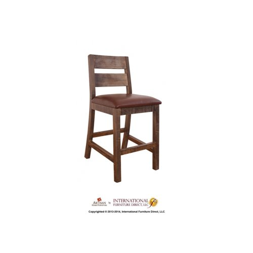 """30"""" Barstool for Bar - with Faux Leather seat**"""