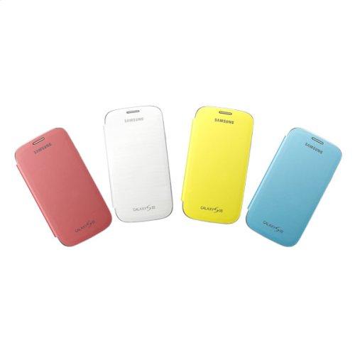 Galaxy S III flip Cover Bundle - Yellow, White, Light Blue, Pink