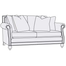 Brae Loveseat in Brandy (703)