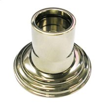 Shower Rod Flange - Polished Nickel