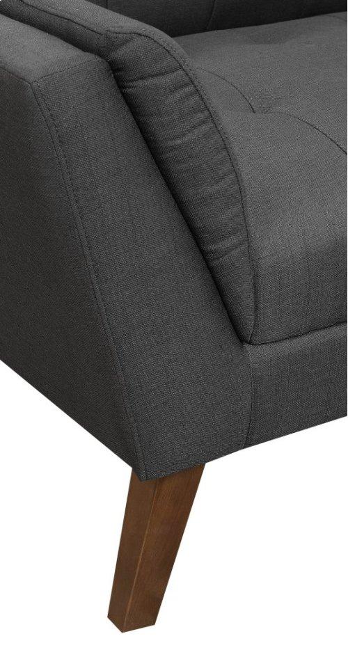 Emerald Home Binetti Sofa-charcoal U3216-00-03