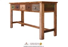 Console w/5 drawer