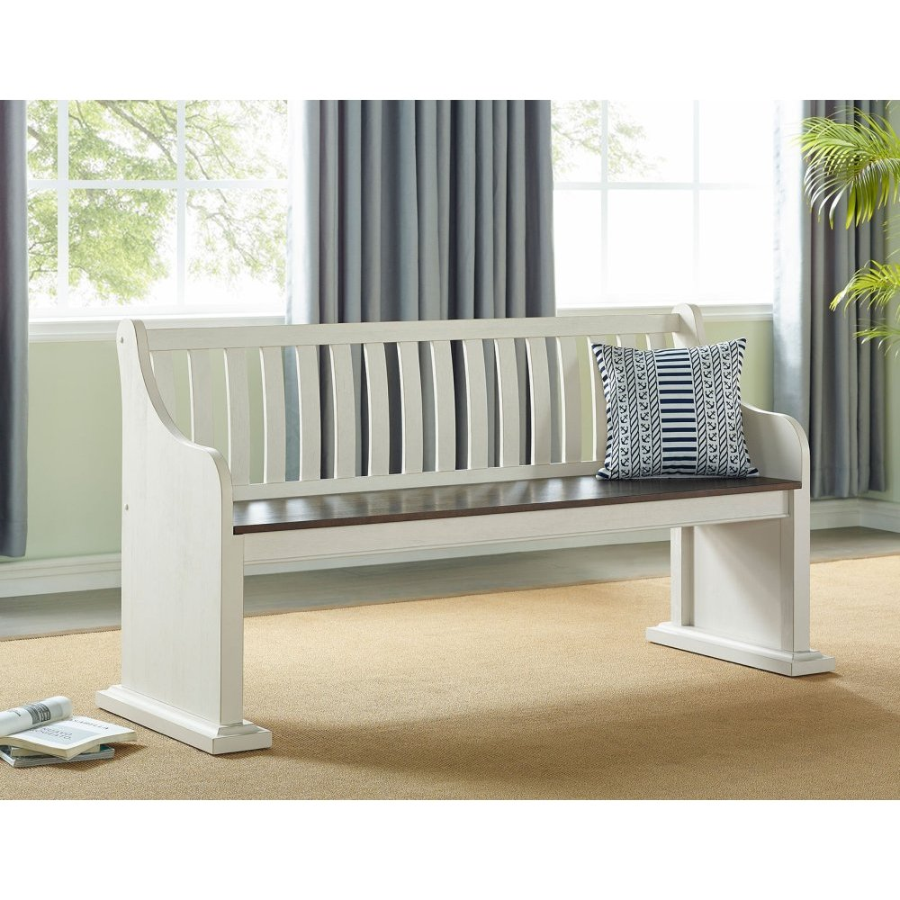 """Joanna Bench with Back 67.5""""x23""""x35"""""""