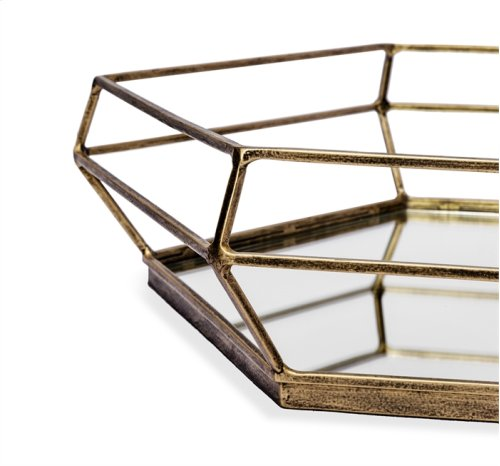 Lacey Hexagonal Tray
