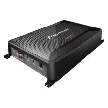 Class D Mono Amplifier with Wired Bass Boost Remote