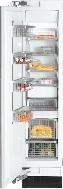 "18"" F 1411 SF Built-In Stainless Steel Freezer - Stainless steel"