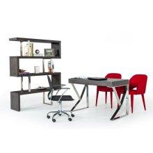 Modrest Ferris Modern Grey Elm Desk