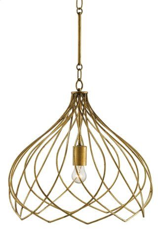 Coralie Pendant - 18rd x 17h Adjustable from 21.5 to 66.5h