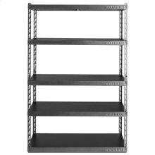 "48"" Wide EZ Connect Rack with Five 24"" Deep Shelves"