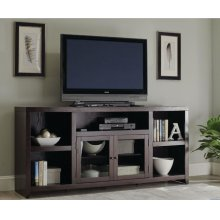 Breckinridge Transitional Dark Cappuccino TV Console