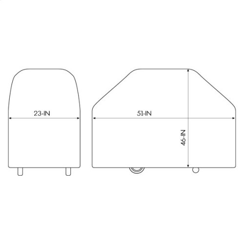 """58"""" Select Grill Cover"""