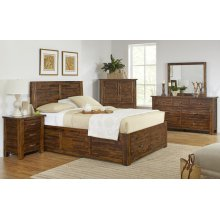 Sonoma Creek 3 Piece King Bedroom Set: Bed, Dresser, Mirror