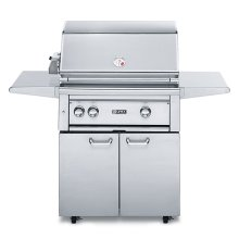 "30"" Free Standing Grill w/ ProSear Burner and Rotisserie (L30PSFR-1)"