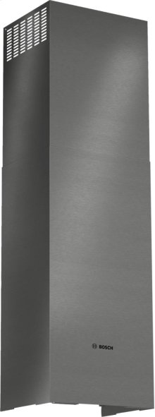 Pyramid Canopy Chimney Hood Duct Extension Accessory Kit HCPEXT4UC Black Stainless Steel