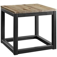 Attune Side Table in Brown