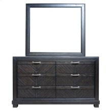 Montana Mirror and Dresser - Brown