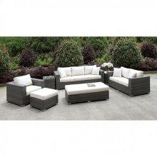 Somani 3 Pc Set + 2 End Tables + Ottoman + Bench