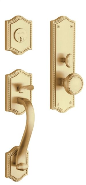 Vintage Brass Bristol Entrance Trim
