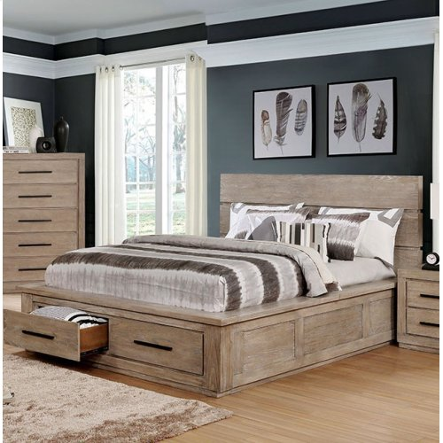 King-Size Oakes Bed