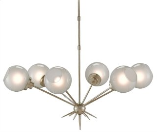 Shelly Chandelier - 23h x 39dia., adjustable from 23h to 59h