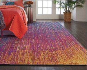 Passion Psn09 Multicolor Rectangle Rug 6'7'' X 9'6''