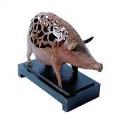 Iron Painted Pig Big