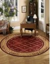 Ashton House As03 Sie Round Rug 7'5'' X 7'5''