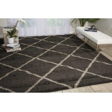Brisbane Bri03 Charcoal Rectangle Rug 6'7'' X 9'7''