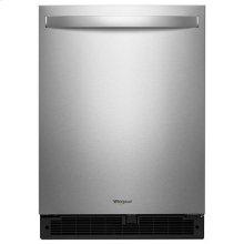 Whirlpool® 24-inch Wide Undercounter Refrigerator - 5.1 cu. ft. - Fingerprint Resistant Stainless Steel