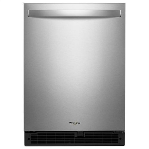 Whirlpool® 24-inch Wide Undercounter Refrigerator - 5.1 cu. ft. - Fingerprint Resistant Stainless Steel